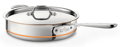 All-Clad Copper Core 3Qt/2.8L Stainless Steel Saute Pan