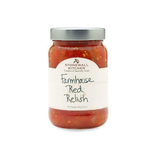 Stonewall Kitchen Farmhouse Red Relish 17.5oz