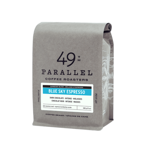 49th Parallel Full Bean Blue Sky Espresso 12Oz