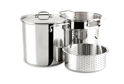 All-Clad 12Qt/11.3L Stainless Steel Multi-Cooker