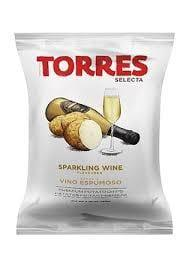 Torres Sparking Wine Potato Chips 125g