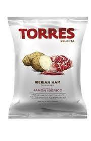 Torres Iberian Ham Potato Chips 125g