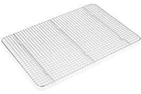Fox Run Half Sheet Cooling Rack Stainless Steel
