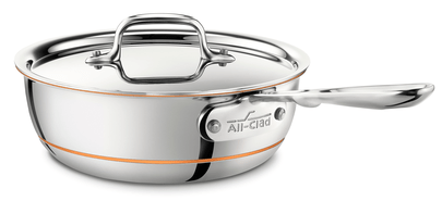 All-Clad Copper Core 2QT/1.9L Stainless Steel Saucier