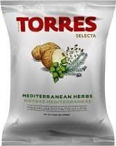 Torres Mediterranean Herb Potato Chips 125g
