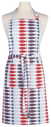 Now Designs Chef Apron Little Fish