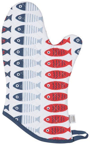 Now Designs Basic Oven Mitt Little Fish