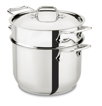 All-Clad 6Qt/5.7L Stainless Steel Pasta Pot Set