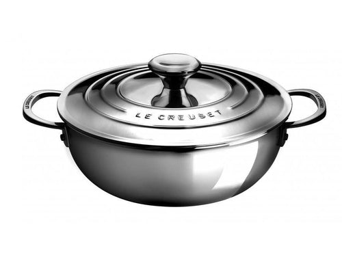 Le Creuset 3.3L Stainless Steel Risotto Pot