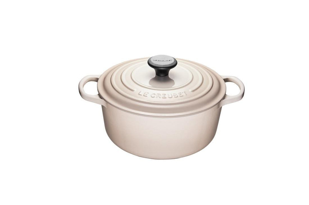Le Creuset 4.2L Round Cast Iron Dutch Oven Meringue