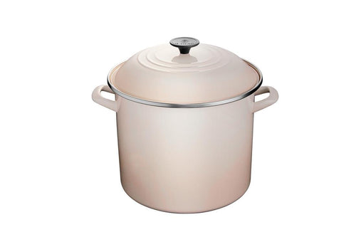 Le Creuset 11.4L Enameled Steel Stockpot Meringue