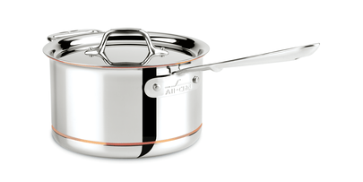 All-Clad Copper Core 4Qt/3.7L Stainless Steel Sauce Pan - Kitchenalia Westboro