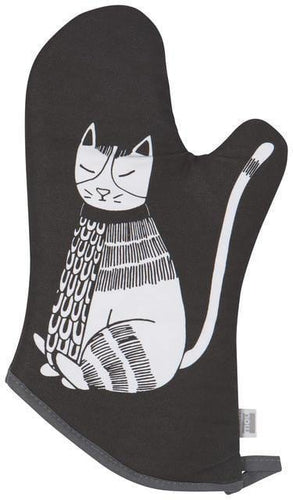 Now Designs Basic Oven Mitts Purr Party