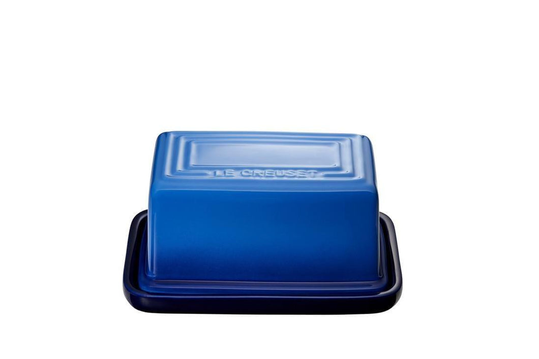 Le Creuset Ceramic Butter Dish Blueberry