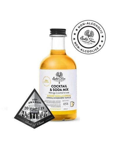 Split Tree Ginger Vanilla Syrup 250ml