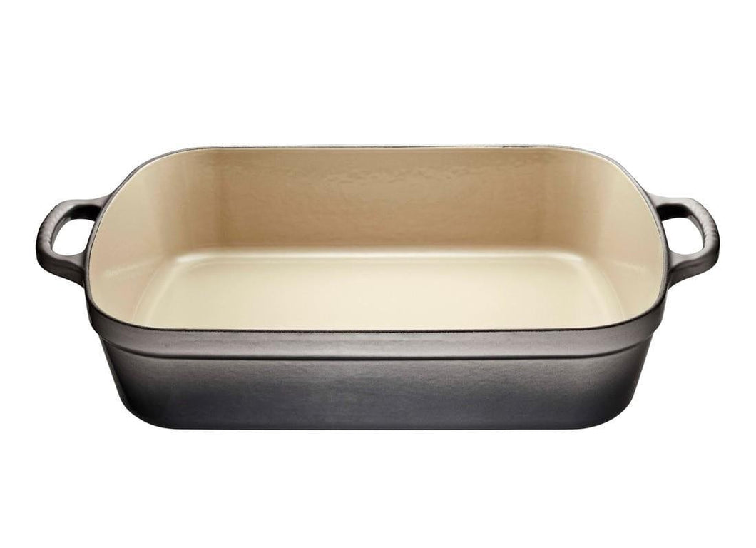 Le Creuset 4.9L Rectangle Cast Iron Roasting Pan Oyster