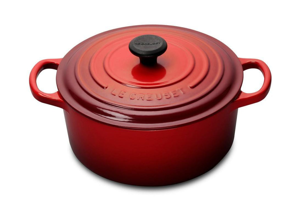 Le Creuset 3.3L Round Cast Iron Dutch Oven Cerise