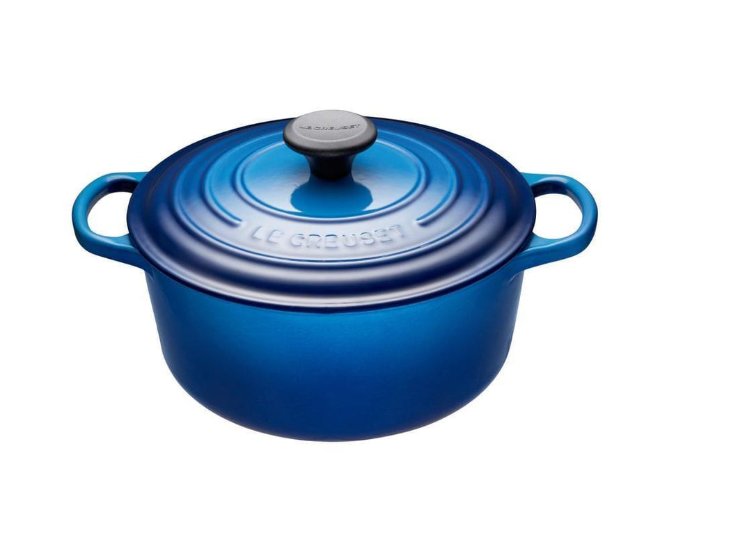 Le Creuset 3.3L Round Cast Iron Dutch Oven Blueberry