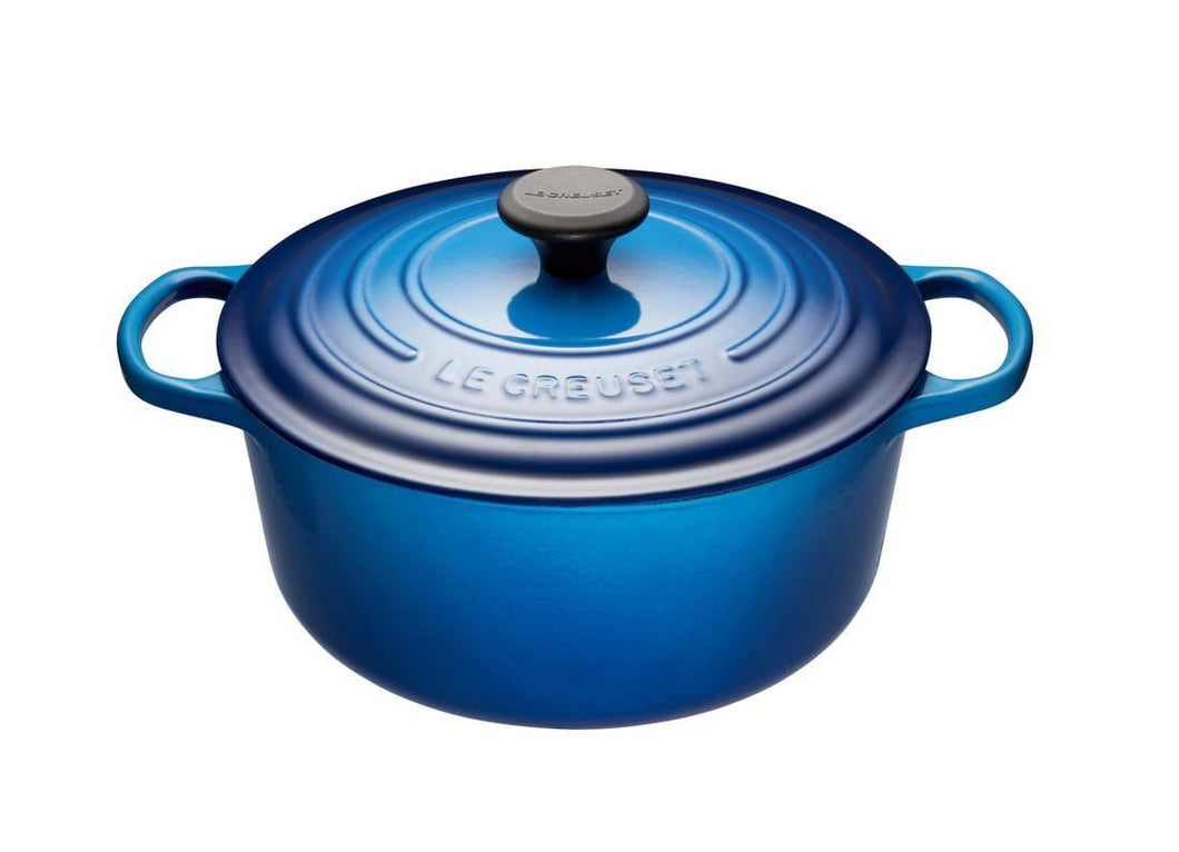 Le Creuset 4.2L Round Cast Iron Dutch Oven Blueberry