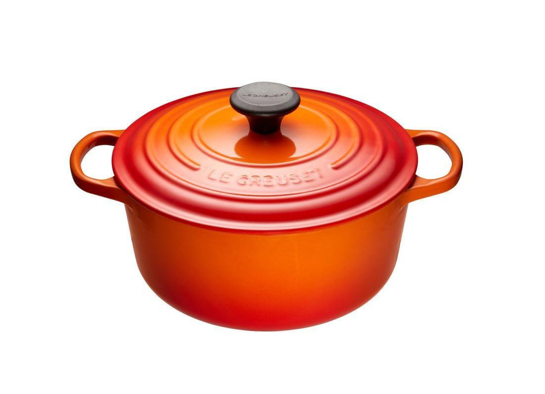 Le Creuset 4.2L Round Cast Iron Dutch Oven Flame
