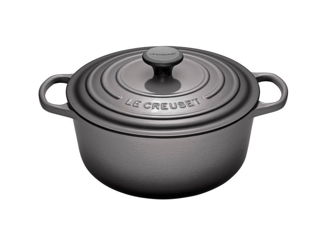 Le Creuset 5.3L Round Cast Iron Dutch Oven Oyster