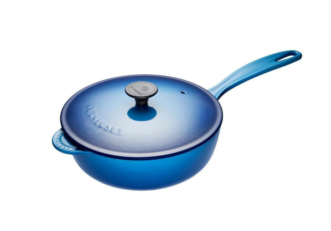 Le Creuset 2L Cast Iron Saucier Blueberry