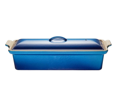 Le Creuset 1.3L Cast Iron Pate Terrine Blueberry