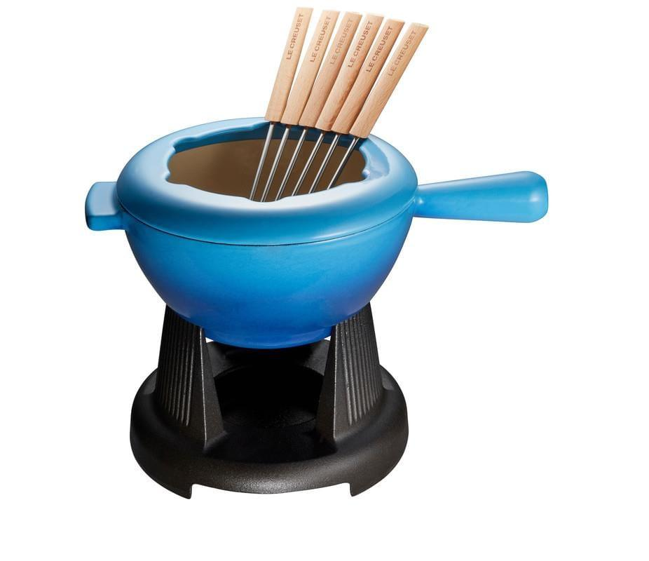 Le Creuset 1.6L Traditional Fondue Set Blueberry