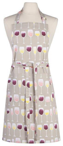 Now Designs Chef Apron Wine Tasting