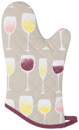 Now Designs Basic Oven Mitts Wine Tasting
