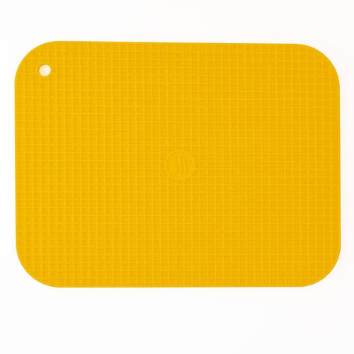 Thermoworks Large Silicone Trivet Yellow