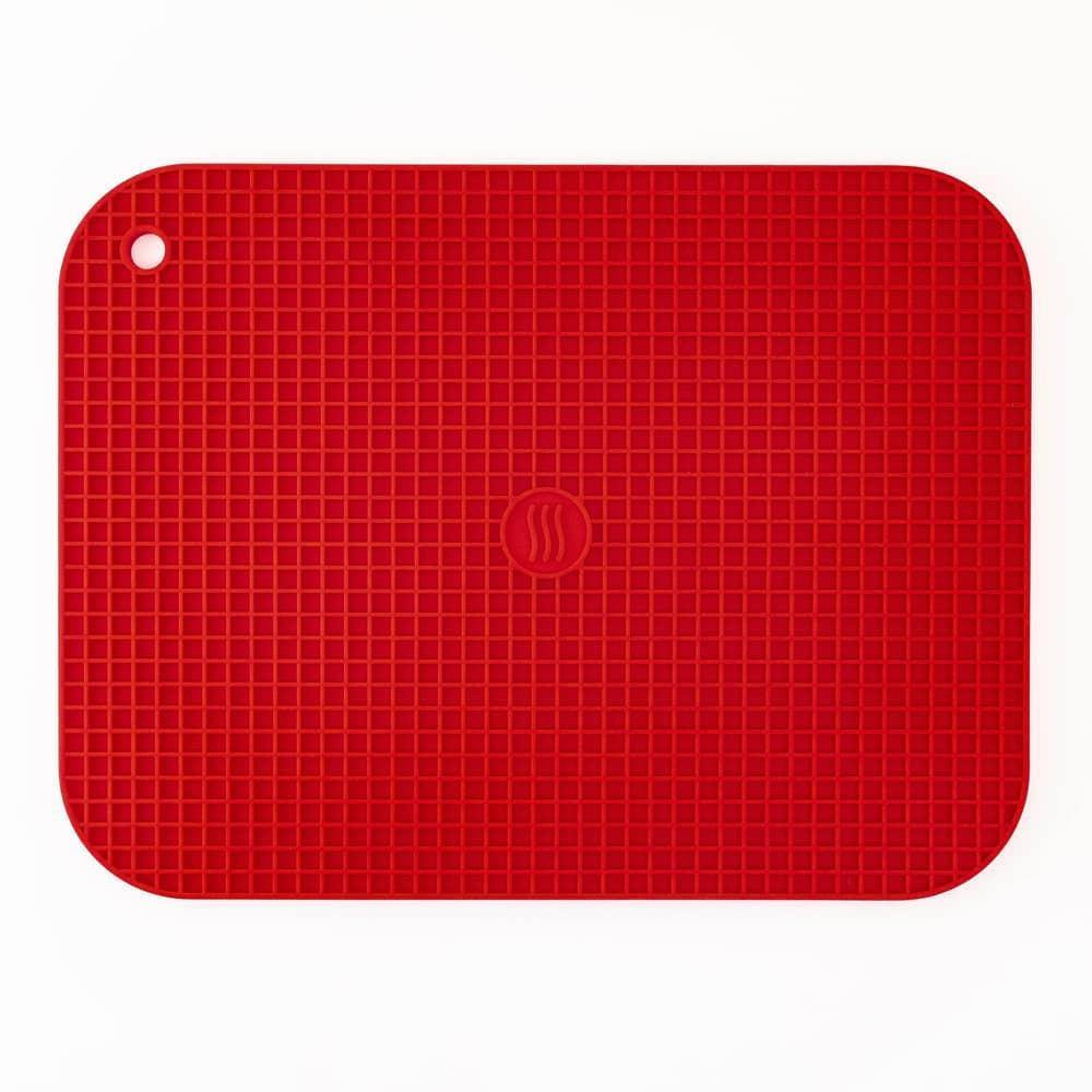 Thermoworks Large Silicone Trivet Red - Kitchenalia Westboro
