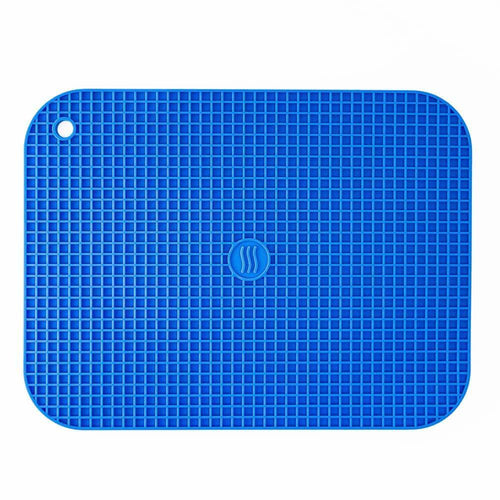 Thermoworks Large Silicone Trivet Blue