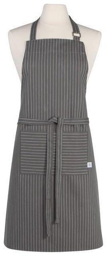 Now Designs Chef Apron Granite Pinstripe