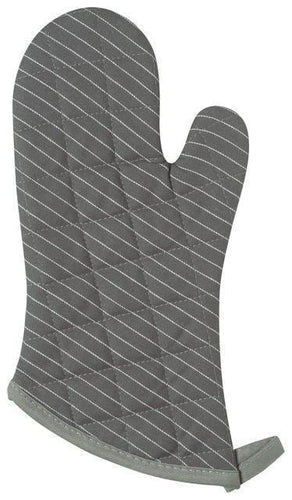 Now Designs Superior Oven Mitts Granite Pinstripe