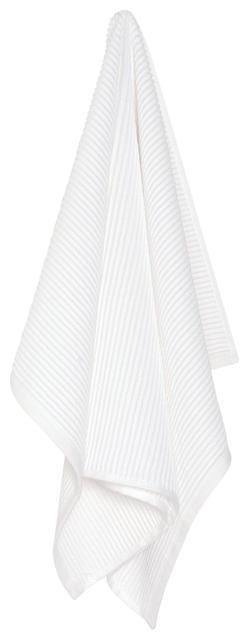 Now Designs Ripple Dishtowel White