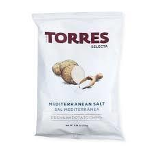 Torres Mediterrean Salt Potato Chips 125g