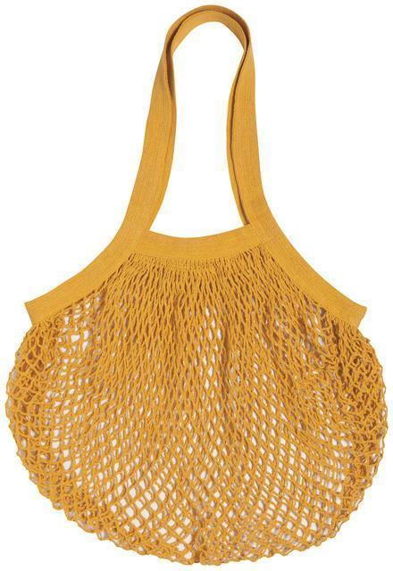 Now Designs Net Shopping Bag Gold