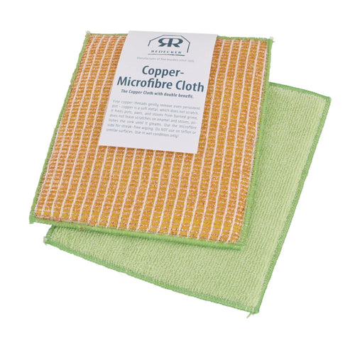 Redecker Copper & Microfiber Cloth