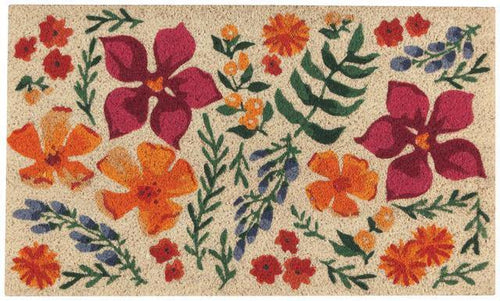 Now Designs Vinyl Backed Doormat Botanica