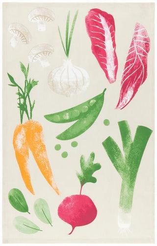 Now Designs Dishtowel Veggies
