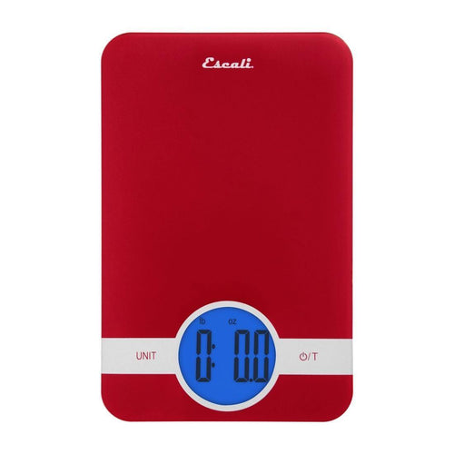 Escali Ciro 11lb Digital Scale Red
