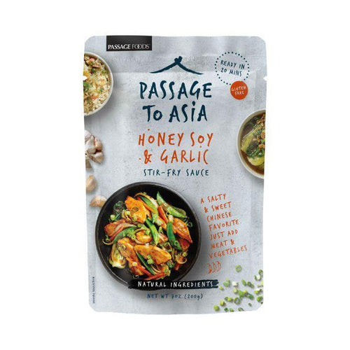 Passage to Asia Honey Soy & Garlic Stir-Fry Sauce 200g