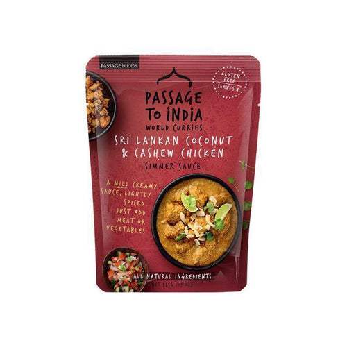 Passage to India Coconut & Cashew Simmer Sauce 375g
