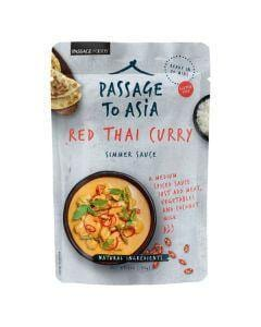 Passage to Asia Red Thai Curry Simmer Sauce 200g