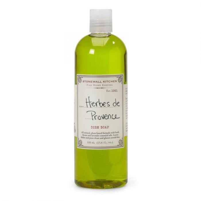 Stonewall Kitchen Herb de Provence Dish Soap 17fl oz