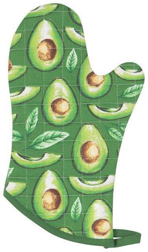 Now Designs Basic Oven Mitts Avocados