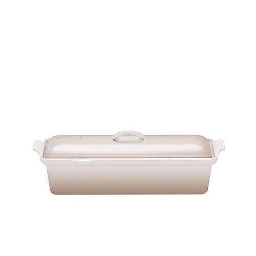 Le Creuset 1.3L Cast Iron Pate Terrine Meringue