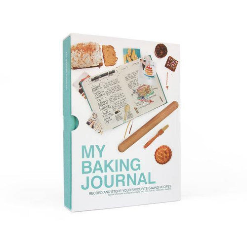 My Baking Journal Blank Cookbook