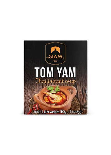 deSiam Tom Yam Instant Soup Mix - 50g